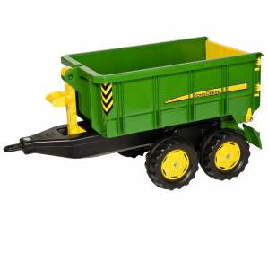 ROLLY TOYS RIMORCHIO JOHN DEERE ROLLYCONTAINER 125098