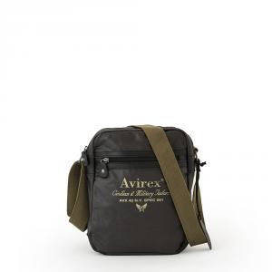 Avirex - Alifax - Borsa a tracolla 1 scomparto verde scuro cod. A5