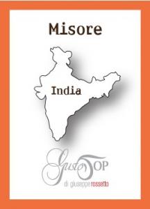 Caffè monorigine in cialda India Mysore, confezione da n. 25 cialde in carta ese 44 mm compatibili