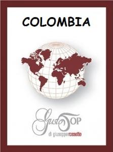 Caffè monorigine in cialda Colombia, confezione da n. 25 cialde in carta ese 44 mm compatibili
