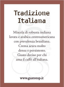 Caffè in capsule Compatibili Lavazza Point, confezione da 100