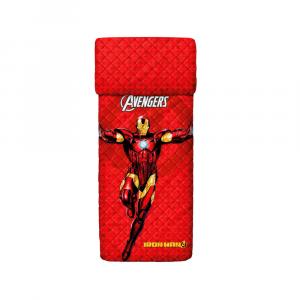 Copriletto trapuntato singolo 1 piazza BASSETTI AVENGERS Iron Man