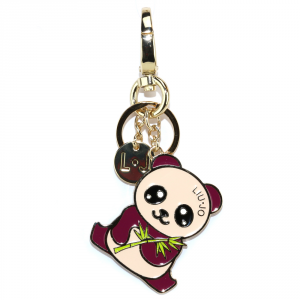 Key ring Liu Jo PANDA N67113 A0001 VIOLA QUARZO
