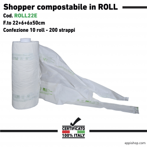 Shopper Ortofrutta - F.to 22+6+6x50