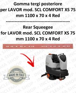SCL COMFORT XS 75 goma de secado fregadora trasero para LAVOR PRO