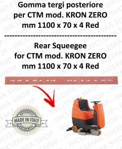 KRON ZERO Bavette autolaveuses arrière pour CTM