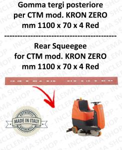 KRON ZERO goma de secado fregadora trasero para CTM