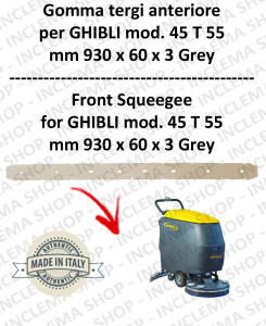 SERIE 1 45 T 55 TERGI front for scrubber dryers  GHIBLI