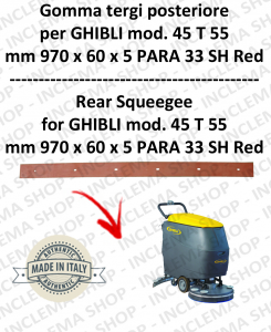 SERIE 1 45 T 55 TERGI back for scrubber dryers  GHIBLI