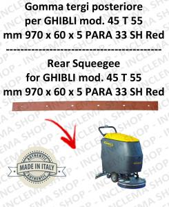 SERIE 1 45 T 55 Hinten Sauglippen für Scheuersaugmaschinen GHIBLI