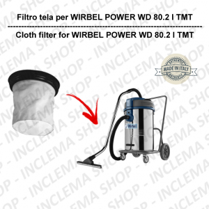 POWER WD 80.2 I TMT Canvas Filter for vacuum cleaner WIRBEL