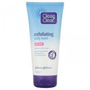 Clean Clear Gel Exfoliating Daily Wash 150ml