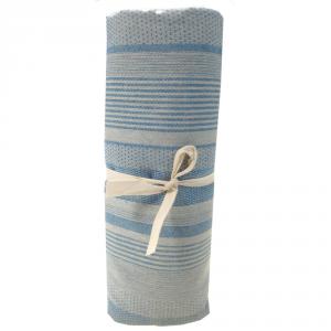 Granfoulard telo arredo copritutto Righe blu - varie misure