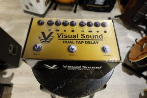 USATO! PEDALE VISUAL SOUND DUAL TAP DELAY