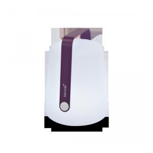 Lampada a LED senza fili - FERMOB - ricarica USB - color Melanzana H25