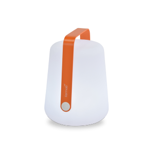 Lampada a LED senza fili - FERMOB - ricarica USB - color Carota H25
