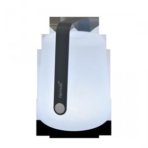 Lampada a LED senza fili - FERMOB - ricarica USB - color Grigio Antracite H38