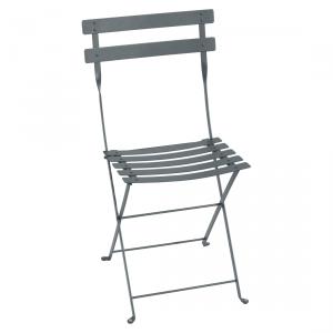 Fermob sedia pieghevole Bistro - Metal - color Grigio Temporale