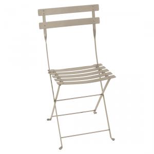 Fermob sedia pieghevole Bistro - Metal - color Muscade