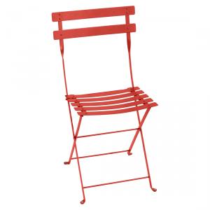 Fermob sedia pieghevole Bistro - Metal - color Capucine
