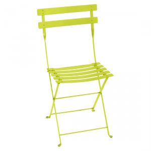 Fermob sedia pieghevole Bistro - Metal - color Verbena