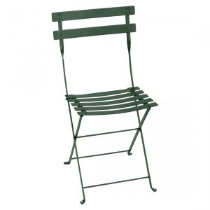 Fermob sedia pieghevole Bistro - Metal - color Verde Cedro