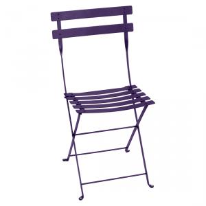 Fermob sedia pieghevole Bistro - Metal - color Melanzana