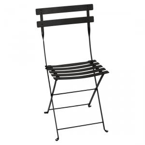 Fermob sedia pieghevole Bistro - Metal - color Liquirizia