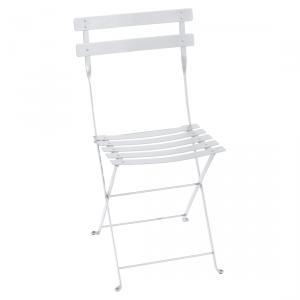 Fermob sedia pieghevole Bistro - Metal - color Bianco Cotone