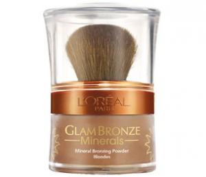 L'Oreal Glam Bronze Terra Illuminante Polvere Pennello 201