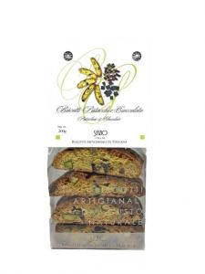 Cantucci con Pistacchi e Cioccolato - 200gr