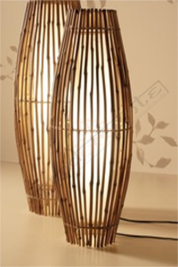 LAMPADA DA TAVOLO IN BAMBOO