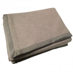 Coperta in misto lana 220x250 cm MARZOTTO-LANEROSSI Cinzia grigio-marrone