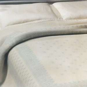 Coperta in pura lana 210x250 cm MARZOTTO-LANEROSSI Provenzale acqua