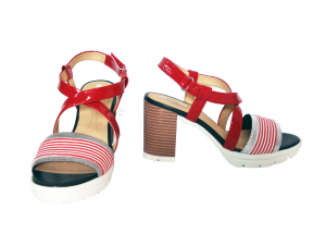 Sandalo rosso Geox