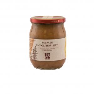 Zuppa di fagioli borlotti - 500gr