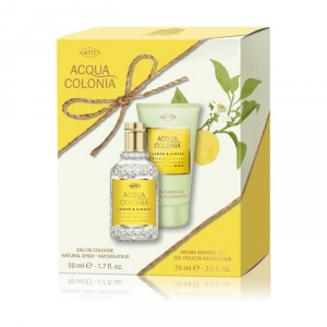 4711 Acqua Colonia Lemon And Ginger Eau De Cologne Spray 50ml Set 2 Parti 2018