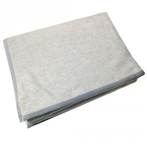Coperta in misto lana 210x250 cm MARZOTTO-LANEROSSI Daisy grigio