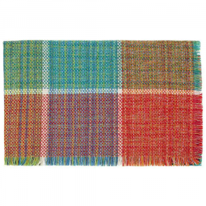 Missoni Home plaid con frange 140x140 cm VESNA 100 multicolore