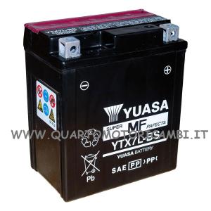 BATTERIA YUASA YTX7L-BS C/ACIDO