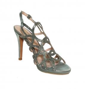 Sandalo pewter strassato Alma en Pena
