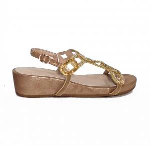 Sandalo basso bronzo Alma en Pena