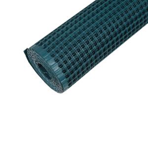 RETE PLASTICA ALTEZZA CM.100 MAGLIA QUADRA 10X10 MM BALCONE RECINZIONE verde