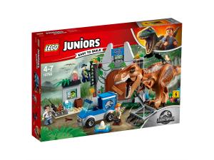 LEGO JUNIORS L'EVASIONE DEL T.REX  - JURASSIC PARK 10758
