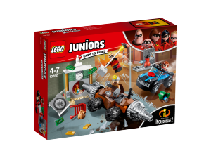 LEGO JUNIORS RAPINA IN BANCA DEL MINATORE 10760