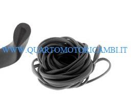 Profilo nero in gomma 160cm bauletto/scudo Piaggio Vespa Px-Pe