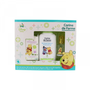 Disney Corine De Farme Winnie The Pooh Eau De Cologne Spray 50ml Set 3 Parti 2018