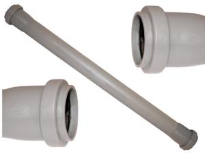Tubo polipropilene grigio ∅ 32 2 bicchiere cm 50