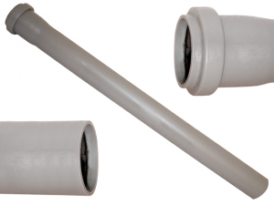 Tubo polipropilene grigio ∅ 32 1 bicchiere cm 25