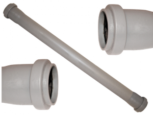 Tubo polipropilene grigio ∅ 40 bicchiere 2 cm 200